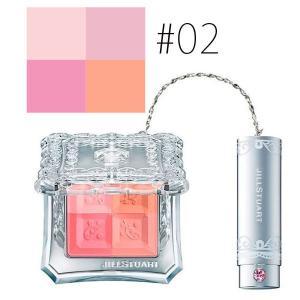 ジルスチュアート (#02)ミックスブラッシュ コンパクト N #fresh apricot 8g(W_94)|cosmerecipe