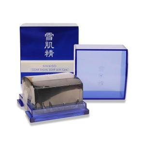 コーセー 雪肌精 クリア フェイシャル ソープ (ケース付) 120g(W_206)|cosmerecipe