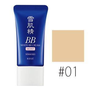 コーセー (#01)雪肌精 ホワイト BBクリーム モイスト #LIGHT OCHRE SPF40/PA+++ 30g(W_51)|cosmerecipe