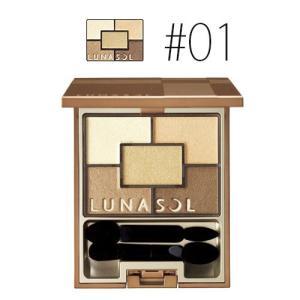 カネボウ ルナソル (#01)スパークリングアイズ #ゴールドスパークリング 5.6g(W_63)|cosmerecipe