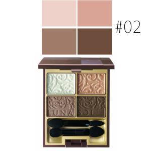 カネボウ ルナソル (#02)グレイスコントラスティングアイズ #Romantic Pink 4g(W_63)|cosmerecipe