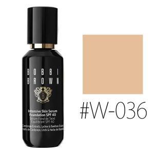 ボビイブラウン (#W-036)インテンシブ スキン セラム ファンデーション #ウォームサンド SPF40/PA+++ 30ml(W_165)|cosmerecipe