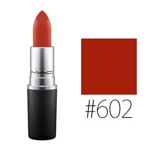 MAC(マック) (#602)リップスティック #チリ 3g(W_24)(メール便可)|cosmerecipe