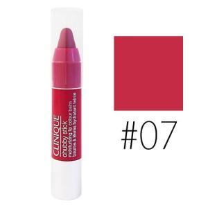 クリニーク (#07)チャビースティック モイスチャライジング リップカラーバーム #super strawberry 1.2g(ミニ)(W_18)|cosmerecipe