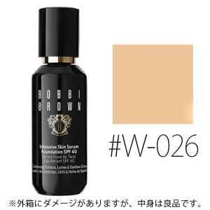 (訳あり)(中身良品)ボビイブラウン(#W-026)インテンシブ スキン セラム ファンデーション SPF40/PA+++ 30ml(W_165)|cosmerecipe
