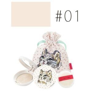 ポール&ジョー(P&J) (#01)プレストフェイスパウダー #クリアカラー 6g (限定)(W_101)|cosmerecipe