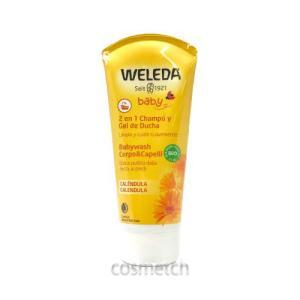 ヴェレダ・カレンドラ ベビー ウォッシュ&シャンプー 200ml (バス用品)|cosmetch
