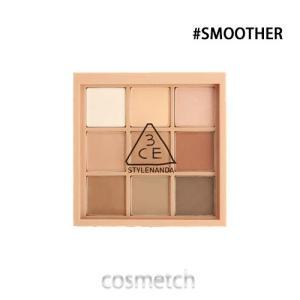 【1点までメール便選択可】 3CE・ムードレシピ マルチアイカラーパレット #SMOOTHER (アイシャドウ)|cosmetch