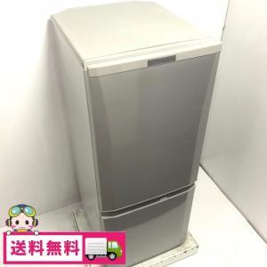 中古 2ドア冷蔵庫 シルバー 三菱電機 自動霜取りファン式 146L MR-P15Z-S1 2016年製 高年式|cosmo-space