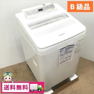 中古 アウトレットB級品パナソニック 9.0kg 全自動洗濯機 NA-FA90H5-W 2018年製|cosmo-space