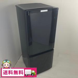 中古 146L 2ドア冷蔵庫 サファイアブラック 三菱電機 MR-P15Z-B1 2015年製|cosmo-space
