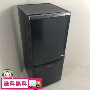 中古 138L 2ドア冷蔵庫 パナソニック NR-BW147C-K 2014年〜2015年製 ブラック 自動霜取りファン式 おまかせセレクト|cosmo-space