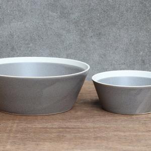 ボウル dishes bowl L fog gray 3個入 木村硝子店×イイホシユミコ(15700...