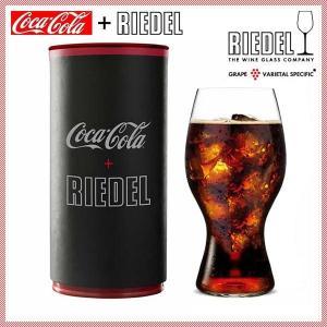 リーデル・オー コカ・コーラ + リーデルグラス(チューブ缶入)(2414/21)キッチン、台所用品