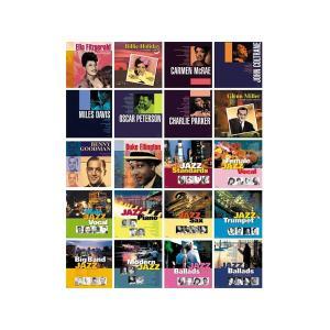ベスト・ジャズ オムニバス CD20枚組BGM ピアノ レストラン バラード 名曲 音楽 サックス トランペット カフェ