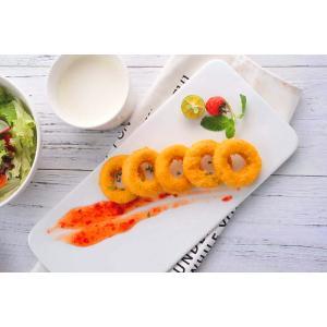 コスモフーズの「チキンリング」500gパック冷凍(約33〜36個)リング状のチキンナゲット|cosmofoods