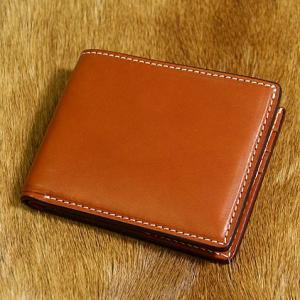 Leather field SEFIA オイルドレザー 二つ折り財布 カード6枚収納 cosmos