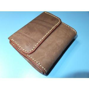 REDFANTOM オイルレザー 二つ折り財布コインポケット付|cosmos