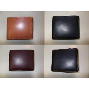 Leather field SEFIA オイルドレザー 二つ折り財布 コインポケット付 cosmos