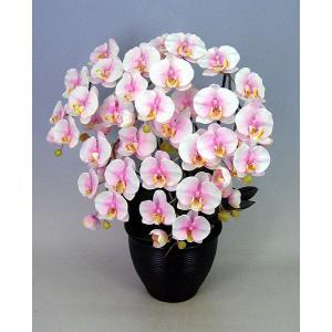 光触媒胡蝶蘭大輪桜ピンク5本立ち 造花ギフト  代引き不可 お誕生日・クリスマスプレゼントに cosmosquare