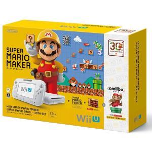 数量限定Wii U スーパーマリオメーカー スーパーマリオ30周年セット
