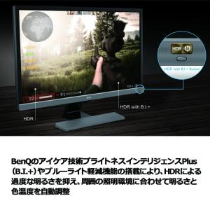 PS4 Pro対応BenQ ゲーミングモニター ディスプレイ EL2870U 27.9インチ/4K/...