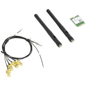 Shuttle 対応するベアボーンやパソコンに無線LANとBluetoothを増設できるM.2接続拡...