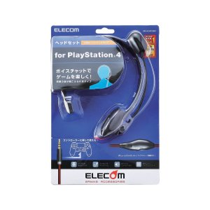ELECOM 4極ヘッドセットマイクロフォン 片耳オーバーヘッド 1.0m PS4用 GM-HSHP...
