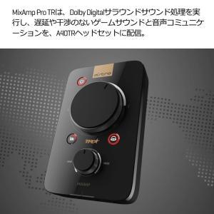 Astro ゲーミングヘッドセット PS4 対応 A40TR-MAP ブラック ミックスアンプ 付き...