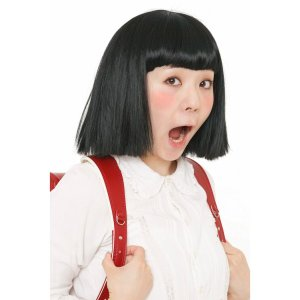 カツランド おかっぱちゃん ちびまる子ちゃん 金太郎 男女兼用 モノマネ カツラ ウィッグ 面白い ...