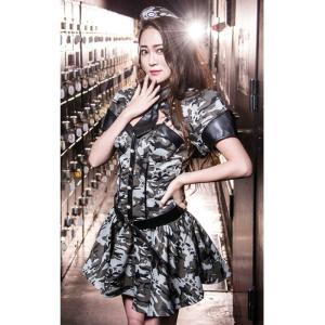 コスプレ ハロウィン コスプレ コスチューム一式 5点セット  ポリス アーミー ハロウィン 衣装 b4008|cosplay-outlet