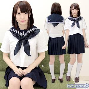 襟元の真っ白な碇マークがポイント♪  有名お嬢様学校の制服シリーズです☆  お嬢様学校の制服はやっぱ...
