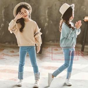 2点セット 上着 ボトムズ 女の子 キッズ・ジュニア 子供服 セットアップ 新作 ロングスリーブBH0116-AL93 cosplayshop