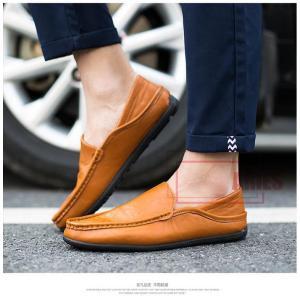 ローファー メンズ ドライビングシューズ スリッポン 紳士靴 2way バブーシュ シューズ ビジネスシューズ 歩きやすい革靴BH928-AL46|cosplayshop