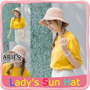 帽子 レディース 新作 UVカット ハット 日よけ 紫外線対策 日焼け対策 無地 春夏 通気性がよいBYH4-AL20|cosplayshop
