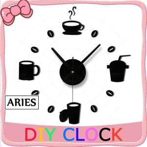時計 キット 手作り 掛け時計 壁掛け時計 DIY おしゃれ かわいい 壁掛け コーピー型CBH11-AL60 cosplayshop