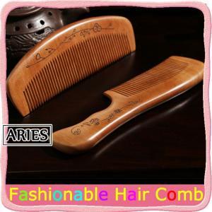 つげ櫛 解櫛 中ハ 薩摩つげ使用 最高級 和泉櫛 荒歯 中歯 国産 可愛い 檀木CBH13-AL08 cosplayshop