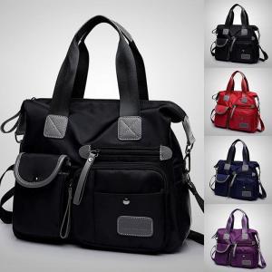 レディース マザーバッグ 肩掛け ショルダーバッグ 斜め掛けバッグ?ハンドバッグ 2way ママ 機能的 大容量 軽量GBB81|cosplayshop