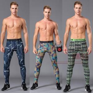 スポーツウェア ズボン レギンス メンズ フィットネス 動きやすい ランニング トレーニング 吸汗速乾 超軽量 プリントGDJ03-AL183|cosplayshop