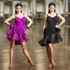 ダンス衣装 レディース ラテンダンス ステージ 社交ダンスウェア ワンピース 演出服 細肩紐GTW-AL190 cosplayshop