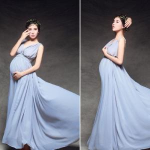 レディース マタニティ ドレス ウエディングドレス ワンピース 写真 撮影用 妊婦服 妊娠お祝い 記念写真GYEC-AL462|cosplayshop