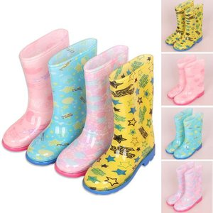 レインシューズ キッズ 子供用 レインブーツ 男の子 女の子 雨靴 防水靴 雨具 おしゃれ 梅雨 雨対策 サイドゴア 可愛い 防滑GYX-AL33|cosplayshop