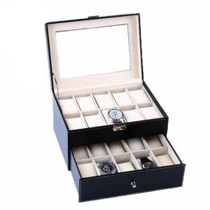 ジュエリーボックス アクセサリーケース 腕時計収納ケース 小物入れ 大容量 バッグ型 腕時計収納 ケース腕時計 便利GZAH-AL211 cosplayshop