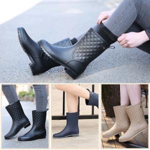 レインシューズ レディース レインブーツ 長靴 雨靴 防水 雨具 おしゃれ 梅雨 雨対策 サイドゴア 通勤 ファッション 雨の日グッズJYX-AL07|cosplayshop