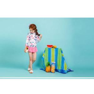 水着 ビキニ 子供 女の子 キッズ ベビー 上下セット 2点セット ラッシュガード 夏 UV 紫外線対策 可愛い 水泳 スイムウエア ビーチ 子ども ミズギ こども cosplayshop 02