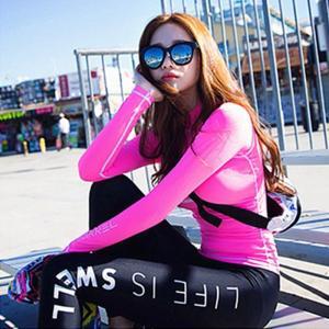 水着 レディース スイムウェア セパレート 3点セット フィットネス水着 体型カバー UVカット ラッシュガード 紫外線対策 日焼け防止 水泳 運動JZAH2-AL152 cosplayshop