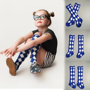 ベビー キッズ・ジュニア 女の子 男の子 男女兼用 靴下 子供ソックス ハイソックス フォーマル 可愛い チェック柄NTWZ-AL08|cosplayshop