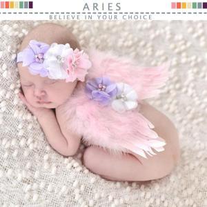 ベビー撮影用 写真撮影用 記念撮影 子供服 赤ちゃん 可愛い 出産祝い 新生児 コスチューム 天使の翼XDX1-AL282|cosplayshop