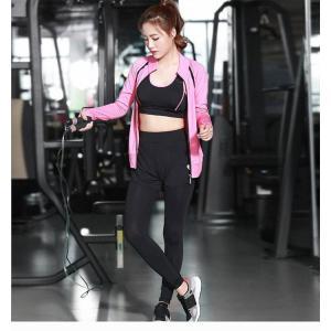 ヨガウェア 三点セット レディース トップス ヨガパンツ フィットネス ダンス 動きやすい トレーニング 吸汗速乾 超軽量 タイト 着痩せ レギンスYUD-AL183|cosplayshop|03
