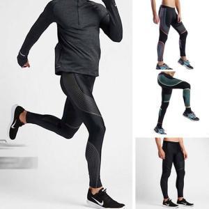 スポーツタイツ ランニングレギンス タイツト スポーツウェア メンズ フィットネス 動きやすい ランニング トレーニング レギンスYUD-AL545 cosplayshop